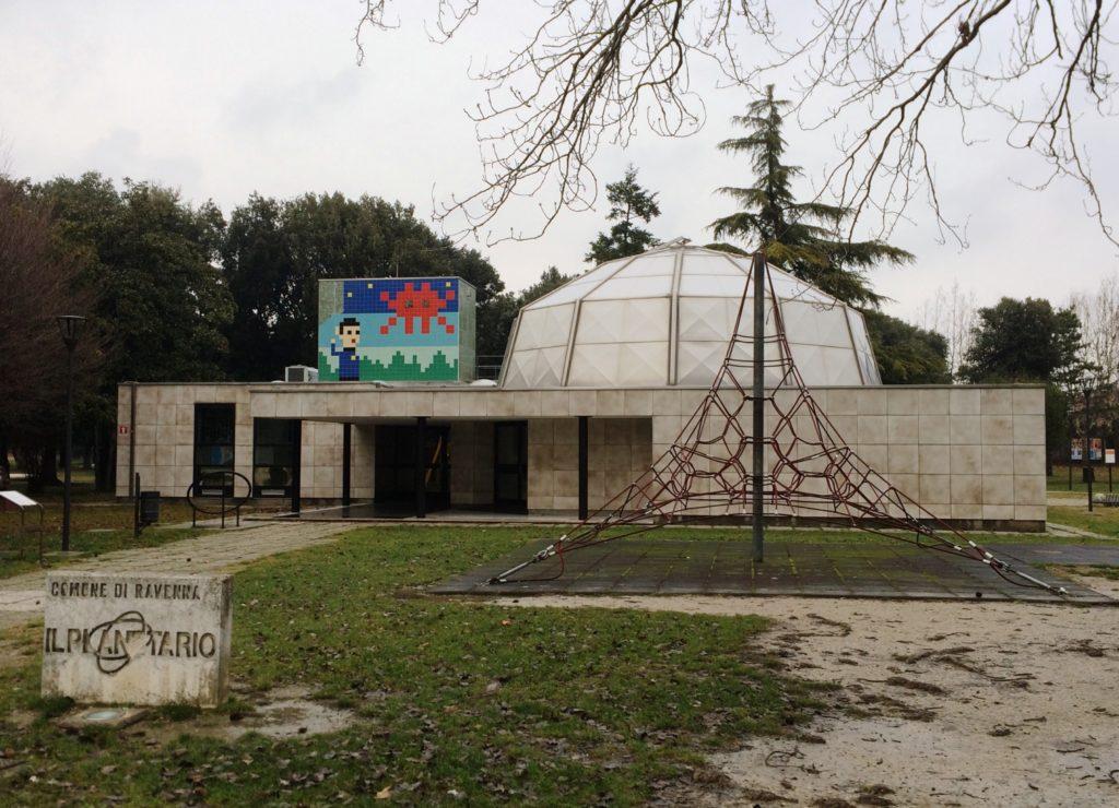 Un altro pezzo della caccia al tesoro al planetario di Ravenna