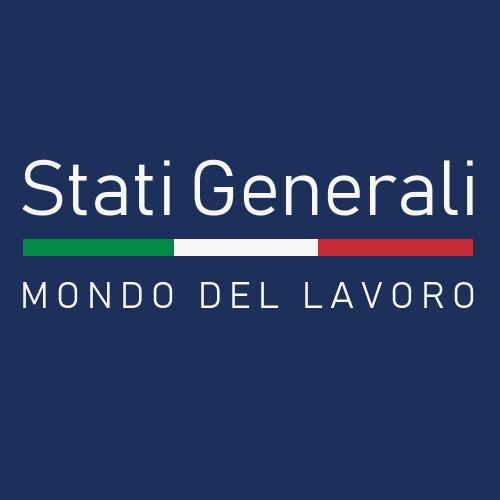 scritta: STATI GENERALI DEL MONDO DEL LAVORO
