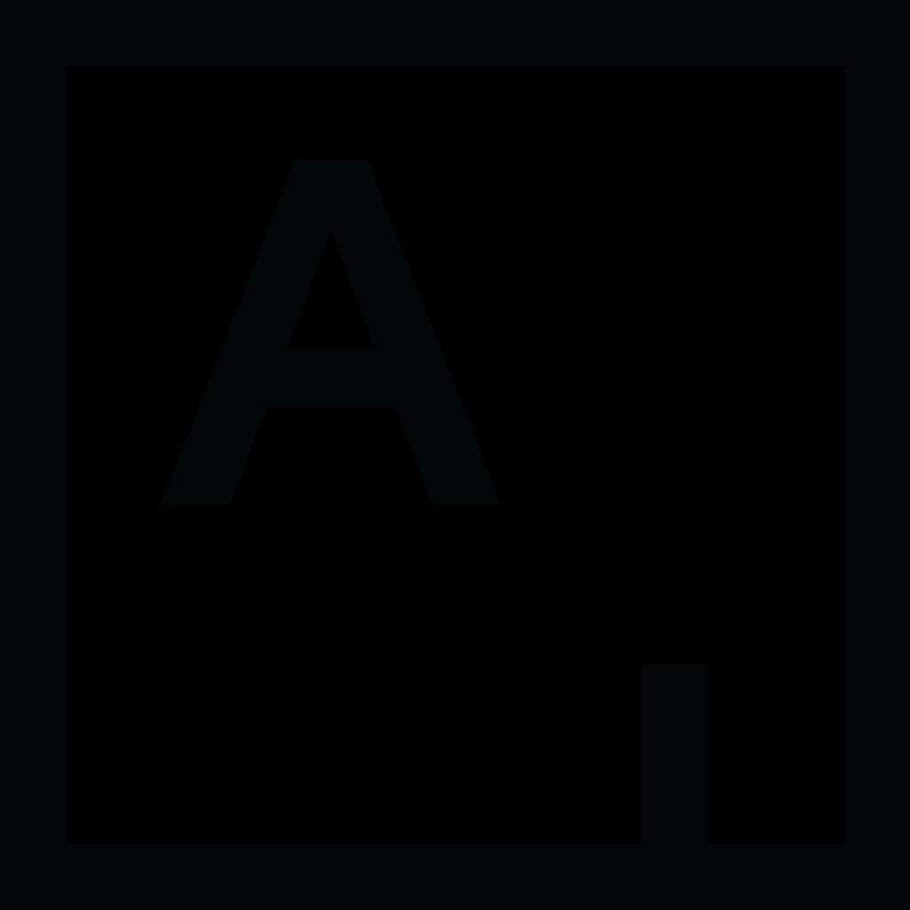artsy è uno dei siti d aste più famoso : il logo è una A in alto a sinistra in un quadrato nero su sfondo bianco