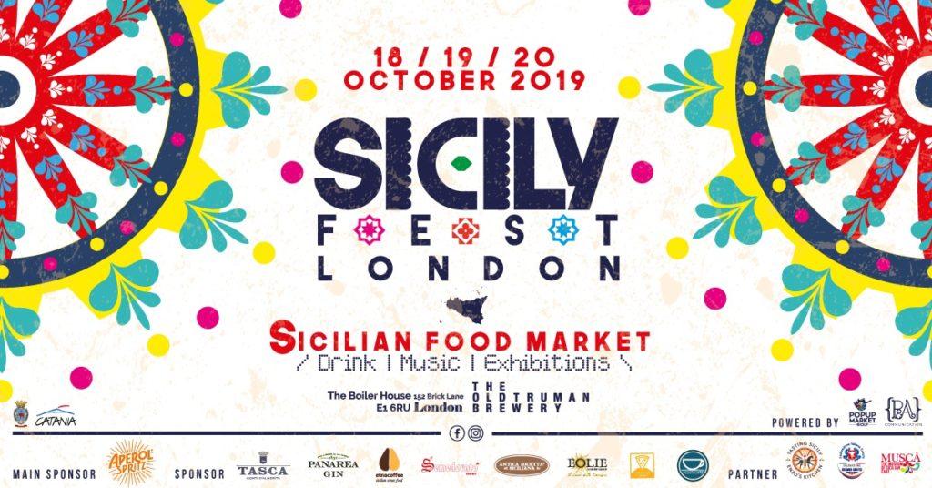 La locandina dell evento Sicily Fest london