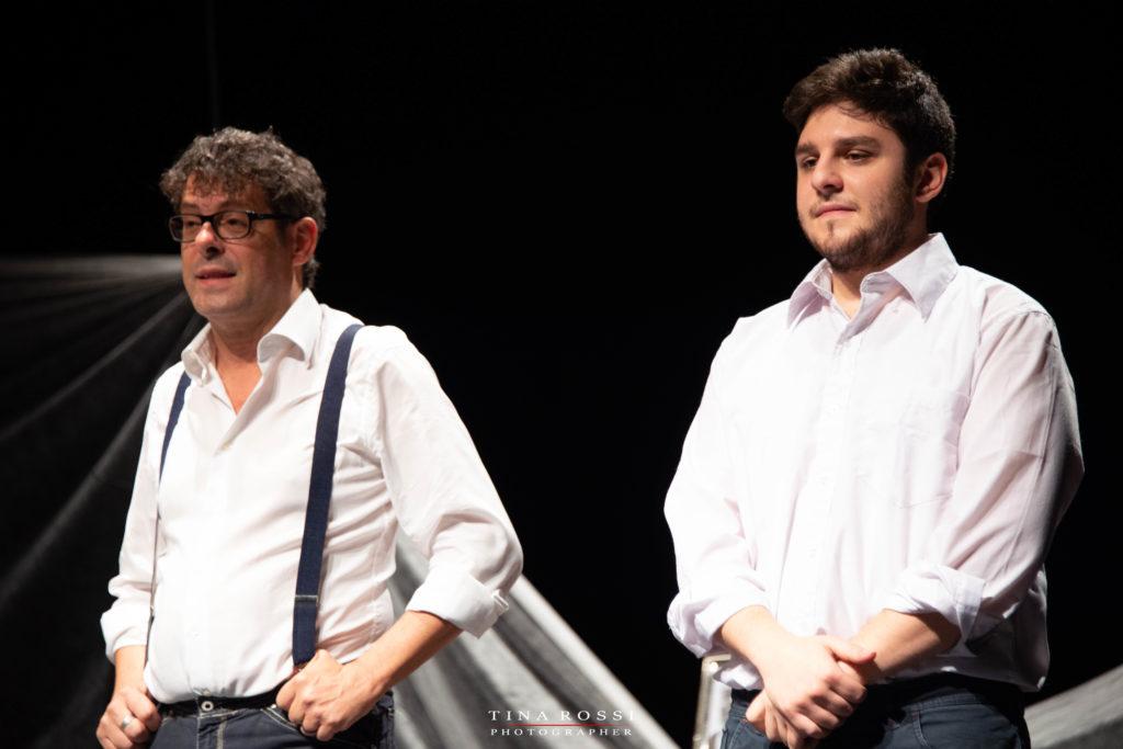 Paolo Calabrese e Sandro Calabrò
