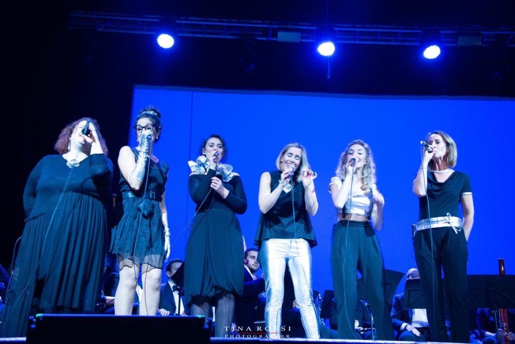 Le Vocal Boutique sul palco del Polio Day