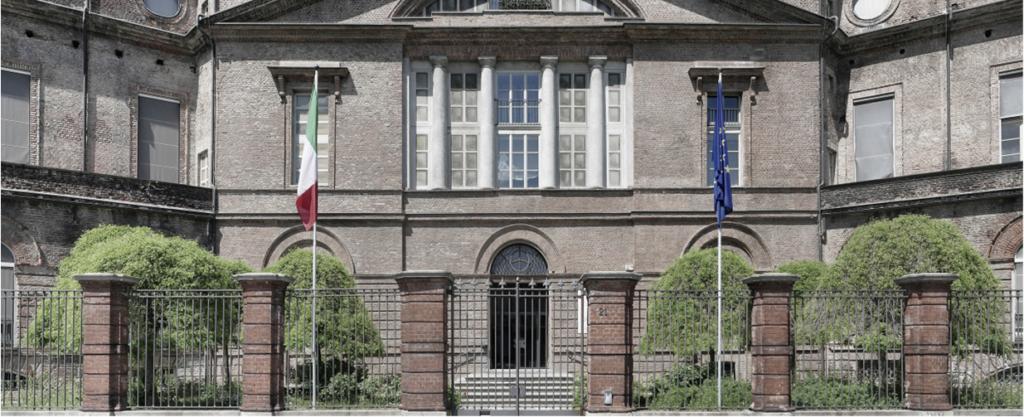 La sede dove si svolgerà una notte all'Archivio di Stato di Torino Facciata dell'edificio sede delle Sezioni Riunite dell'Archivio di Stato (Foto D. Giachello)