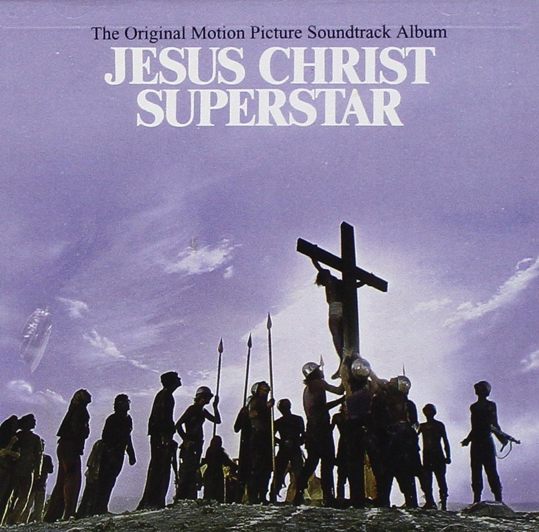 Jesus Christ Superstar: in primo piano la copertina originale del disco in vinile