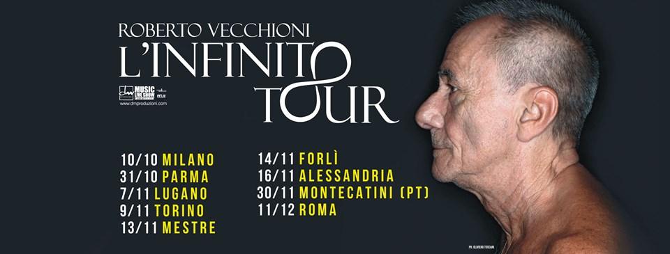 Tutte le date del Tour L'Infinito