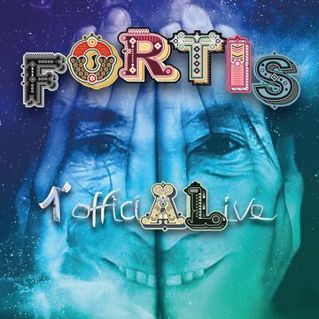 Fortis - 1° officiALive: la copertina del nuovo disco del cantautore di Domodossola