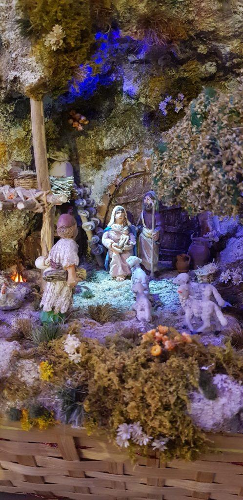 Presepio isola di Gozo Natività nella grotta