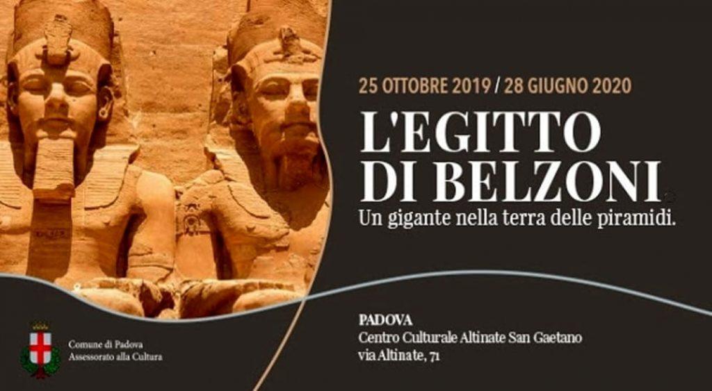 L'Egitto di Belzoni locandina della mostra