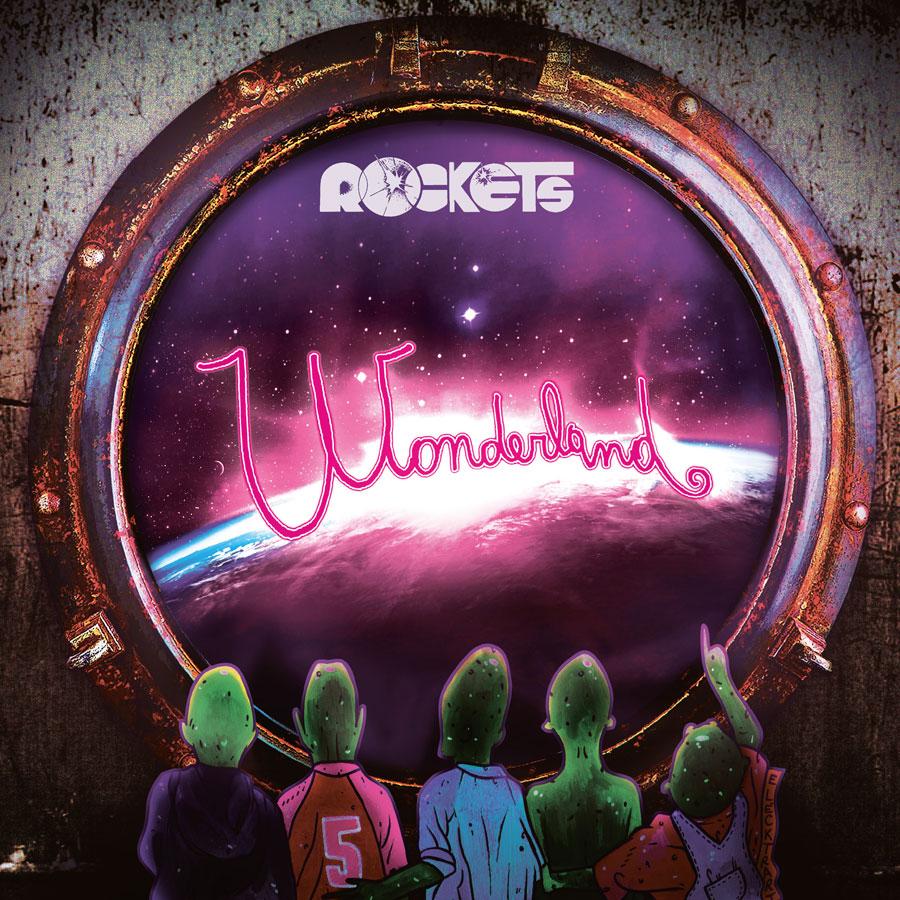 """A volte ritornano: mesdames et messieurs les Rockets: la copertina del nuovo album """"Wonderland"""""""