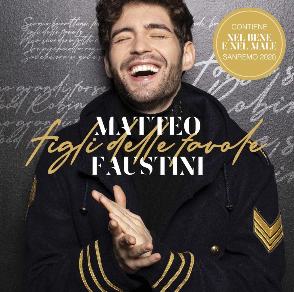 Matteo Faustini la copertina di Figli delle Favole, l'album