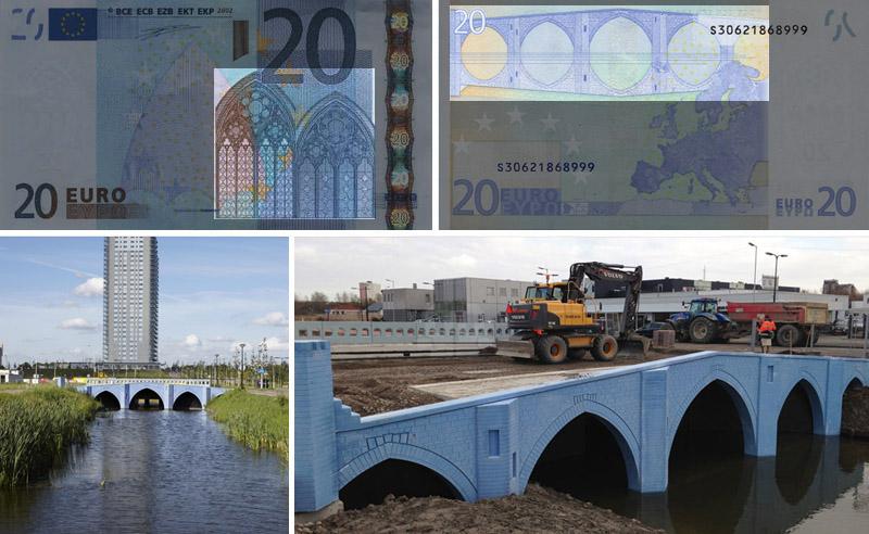 Azzurro Gotico banconota 20 euro
