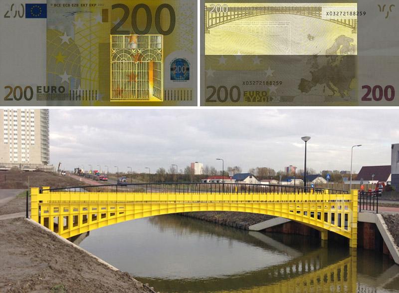 Ponte giallo. Art Nouveau