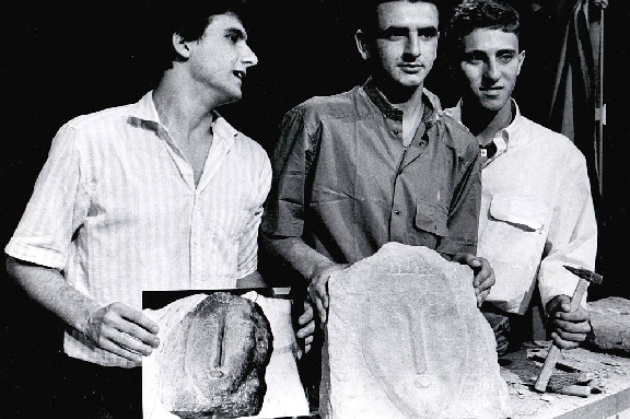 I tre ragazzi falsari autori de la più grande beffa le teste false di Modigliani