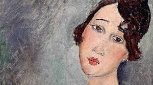 La più grande beffa d'arte le teste false di Modigliani. Dipinto di donna autentico di Modigliani