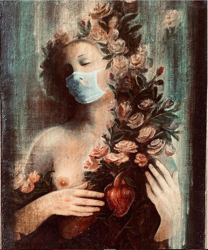 L'arte è a disposizione di  tutti grazie al Coronavirus arte social con curatori e social Viva l'italia di Jacopo scasselati