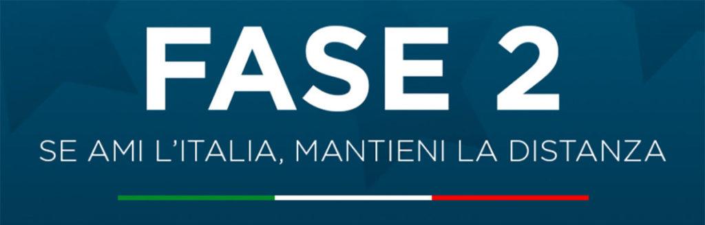 """Ripartenza fase due """"se ami l'Italia mantieni la distanza"""