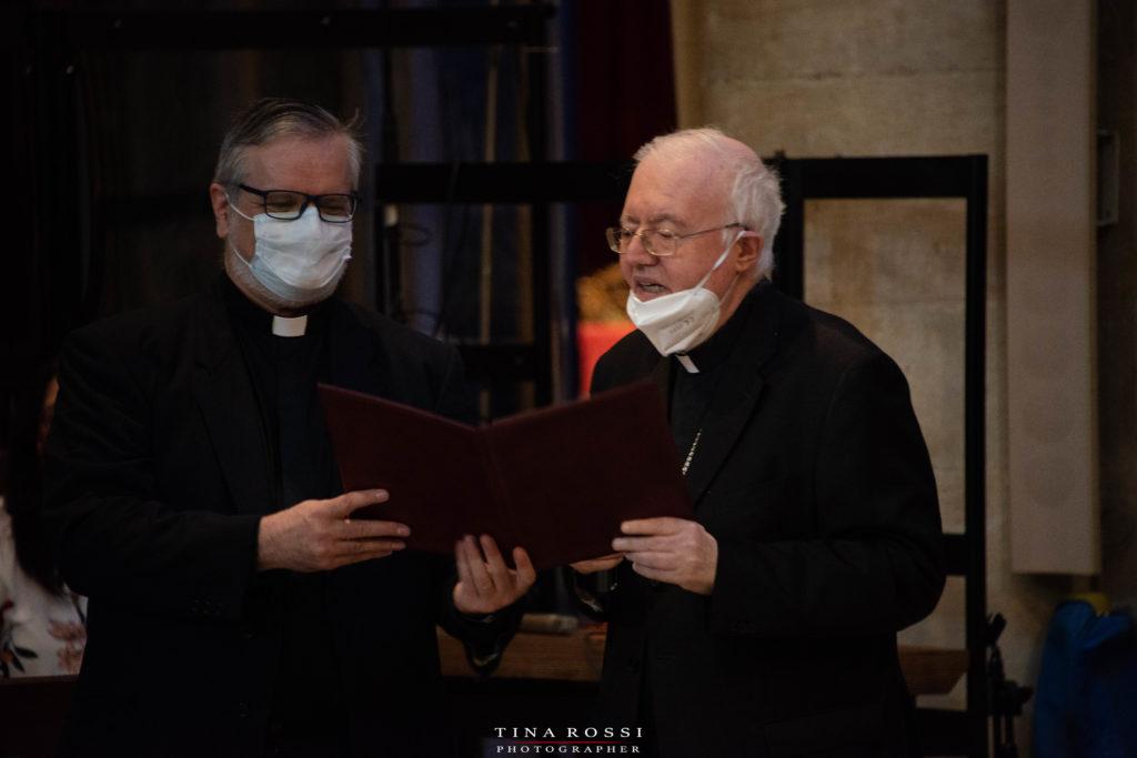 Il Duomo di Torino - Monsignor Cesare Nosiglia e don Carlo Franco