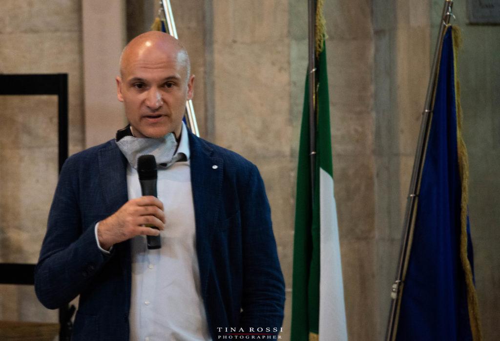 Mario Epifani della Soprintendenza archeologica Belle Arti e Paesaggio