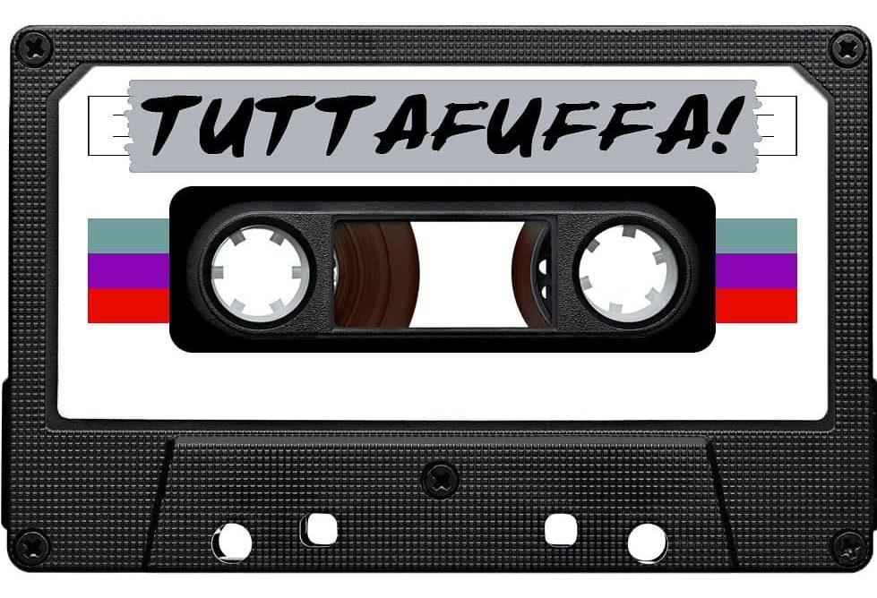 Collisioni: live - nella foto una musicassetta con la scritta Tuttafuffa