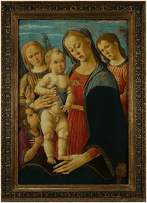 La Madonna del Sellaio , dispersa durante l'olocausto,  ricompare a Rivoli  collezione Cerruti