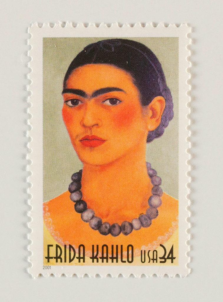 Francobollo con effigie di Frida realizzati in USA