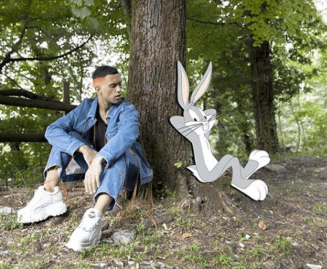 Mahmood e Bugs Bunny