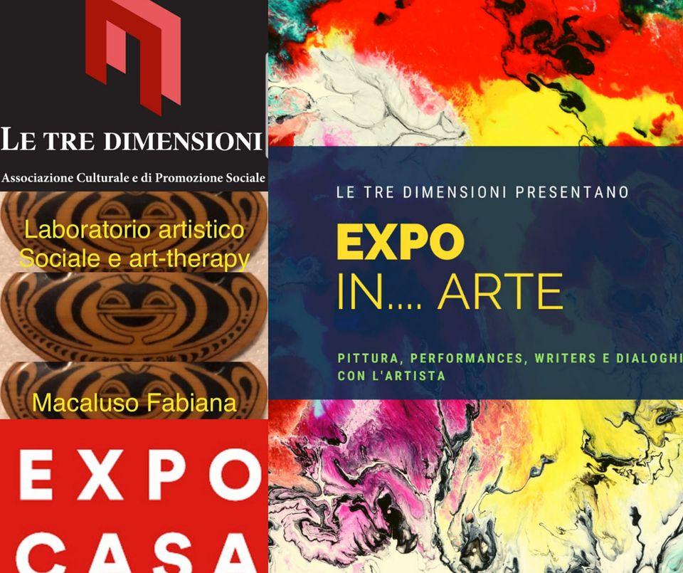 Un'EXPO d'arte con Le Tre Dimensioni a Expocasa Torino