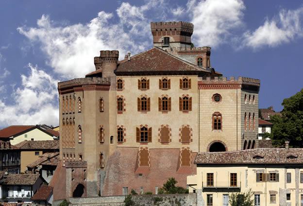 Il Castello di Barolo diventato museo del Vino
