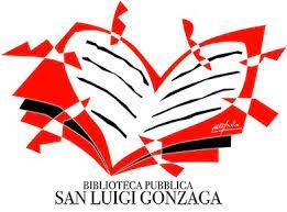 Biblioteca San luigi gonzaga e un libro rosso a forma di cuore