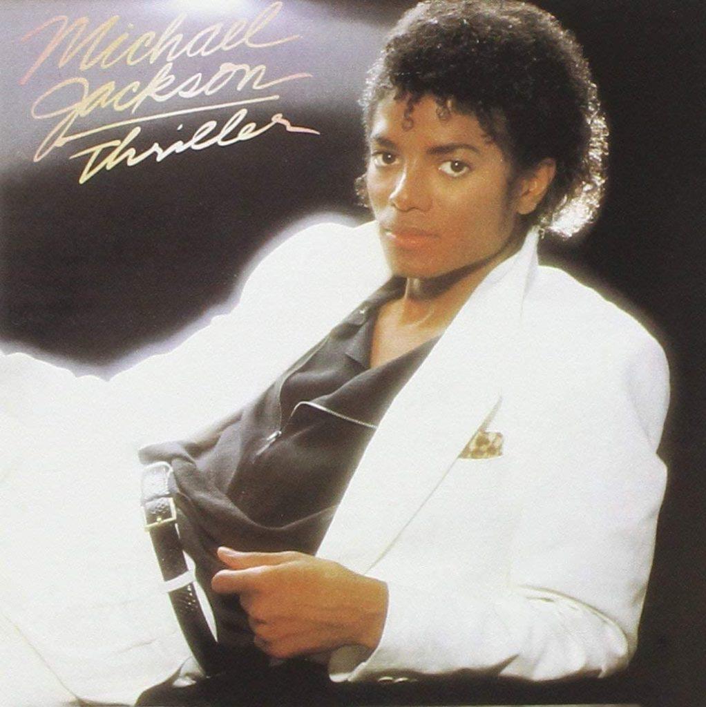 thriller michael jackson - la copertina del disco
