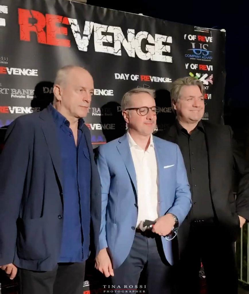 Casting day of revenge Tomas Arana con Matteo Querci e Paolo odierna