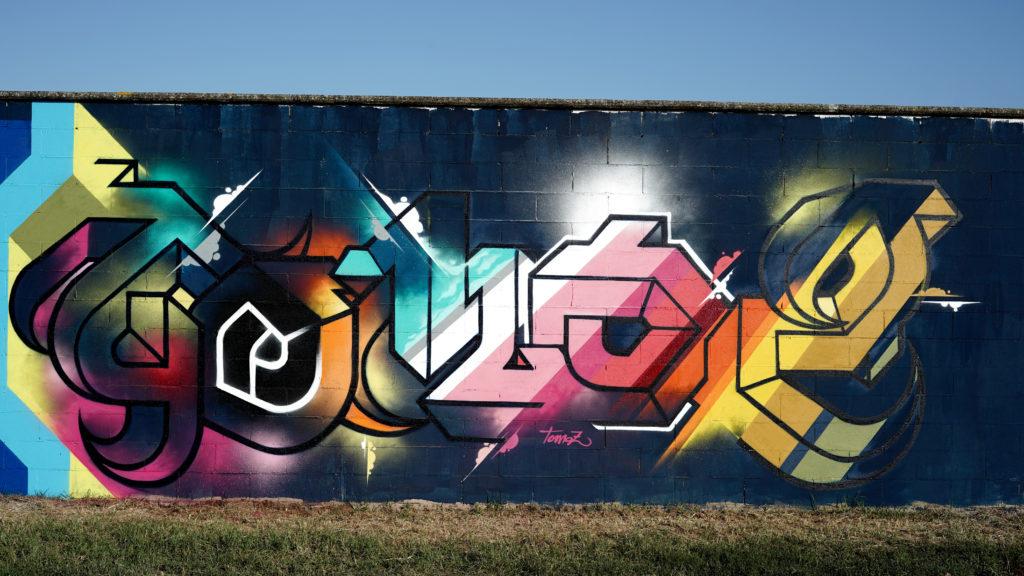 Manufactory project un murales colorato