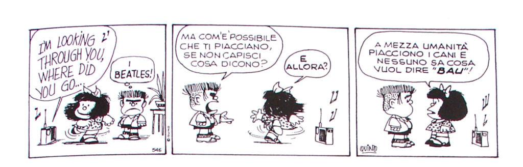 striscia di Mafalda