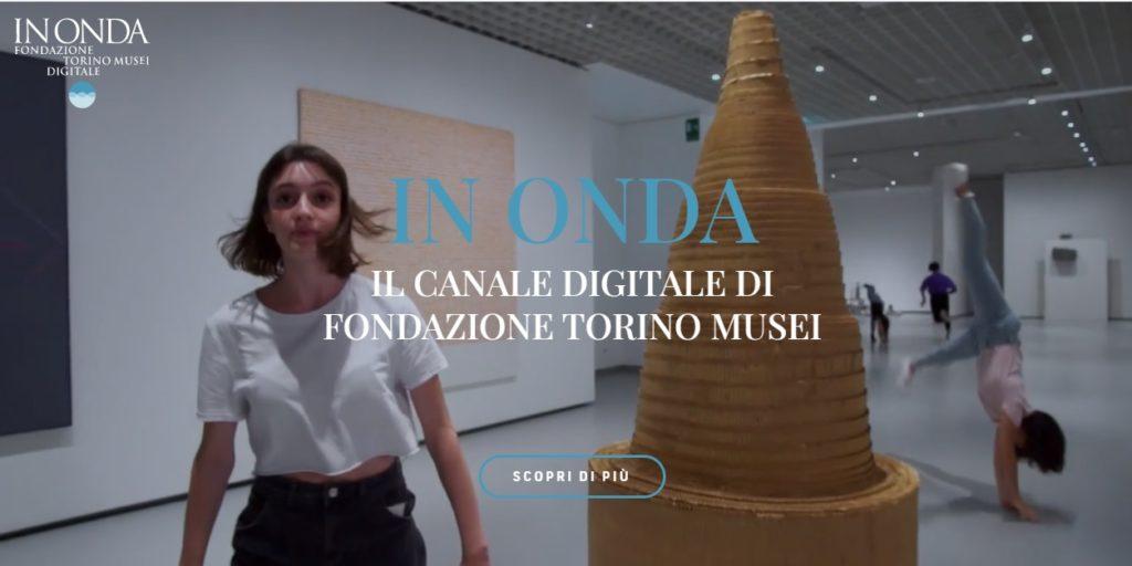 Fondazione digitale, il nuovo accesso web della Fondazione Torino Musei