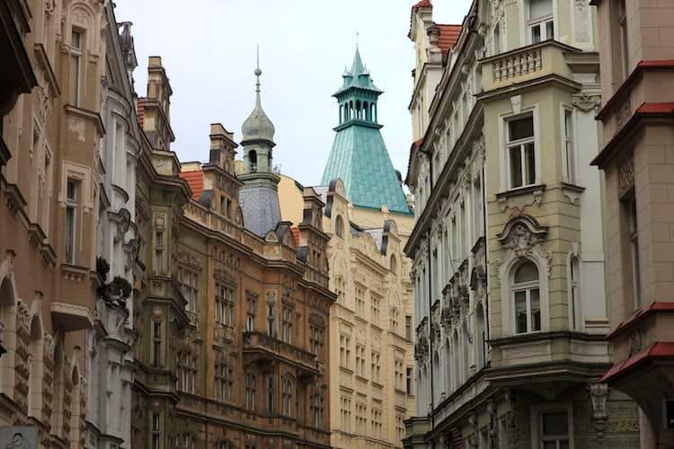Josefov: il quartiere ebraico e l'ex ghetto di Praga.