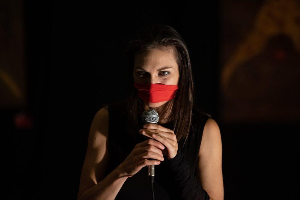 un novembre rosso indelebile riparte dal polo del 900 a Torino il progetto contro il femminicidio e la violenza di genere. in foto Rosalba Castelli