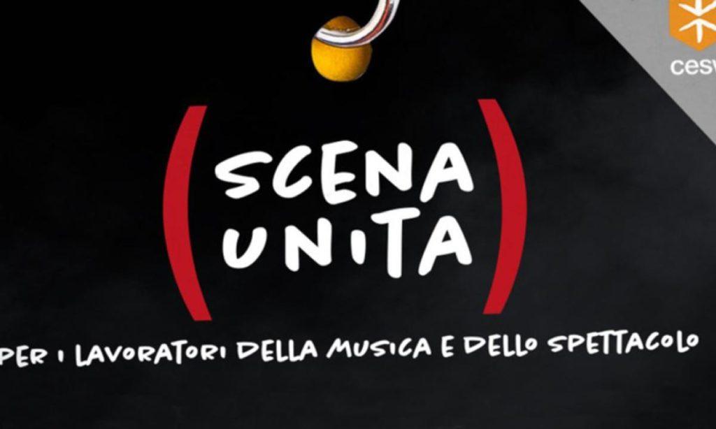 Spettacolo Scena Unita il logo