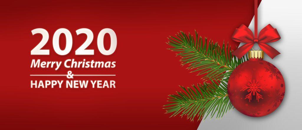 Vigilia auguri buon natale and happy new year