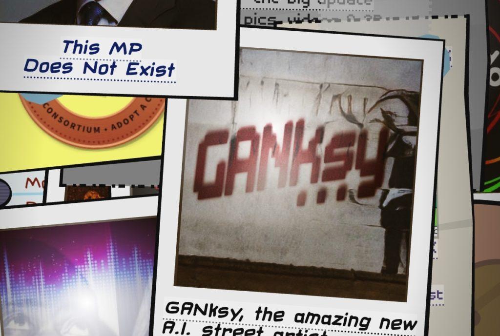 GANsky l'erede di Banksy nella Street Art immagini del sito
