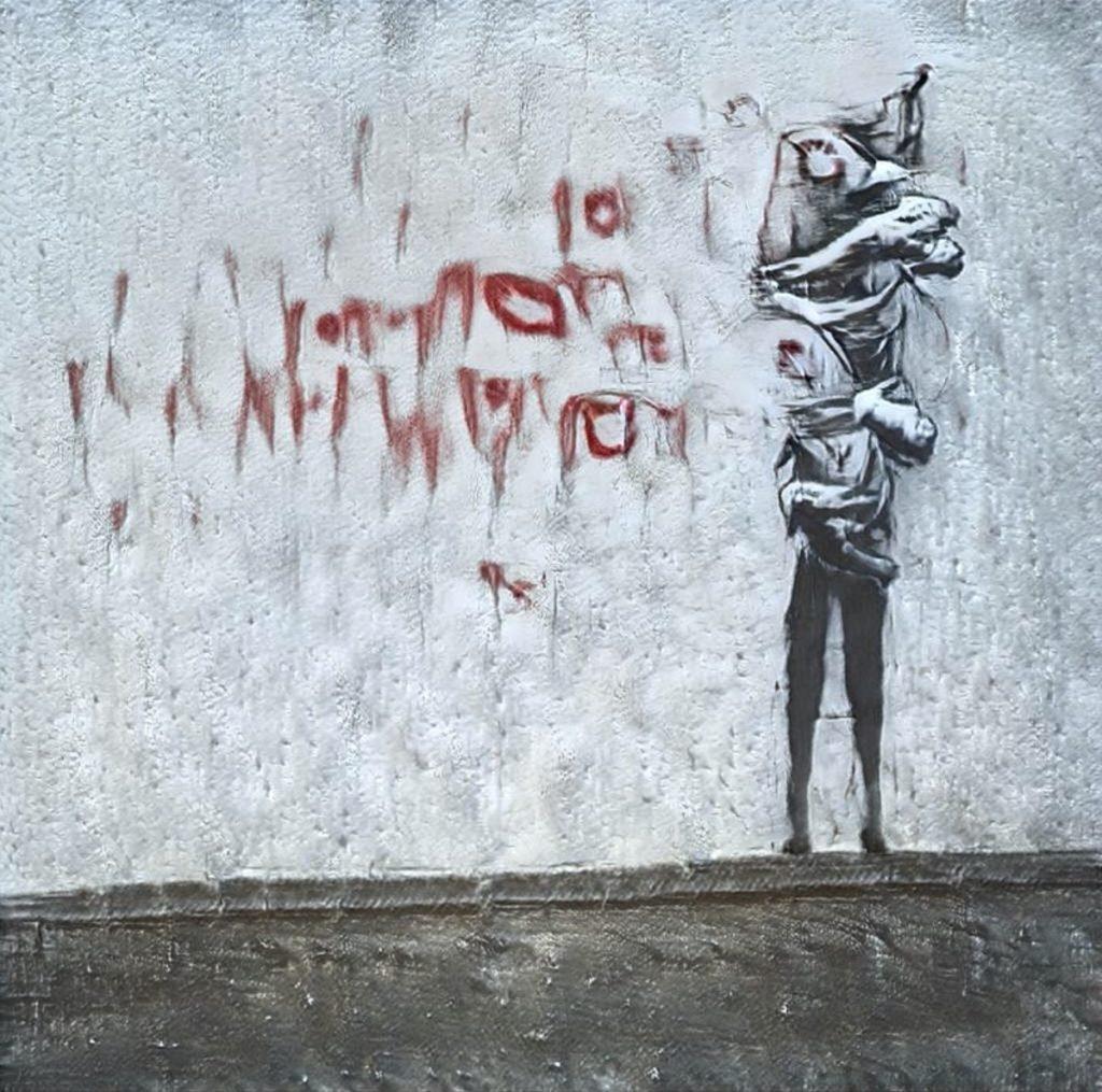 GANsky l'erede di Banksy nella Street Art