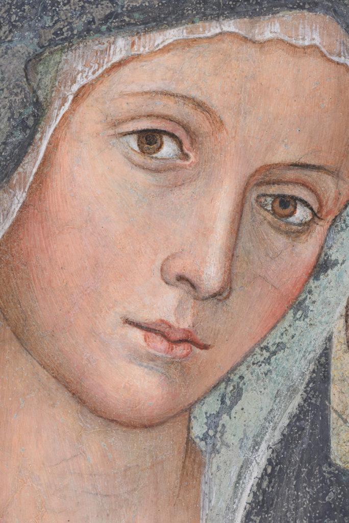 La Madonna delle Partorienti dalle Grotte Vaticane a Torino