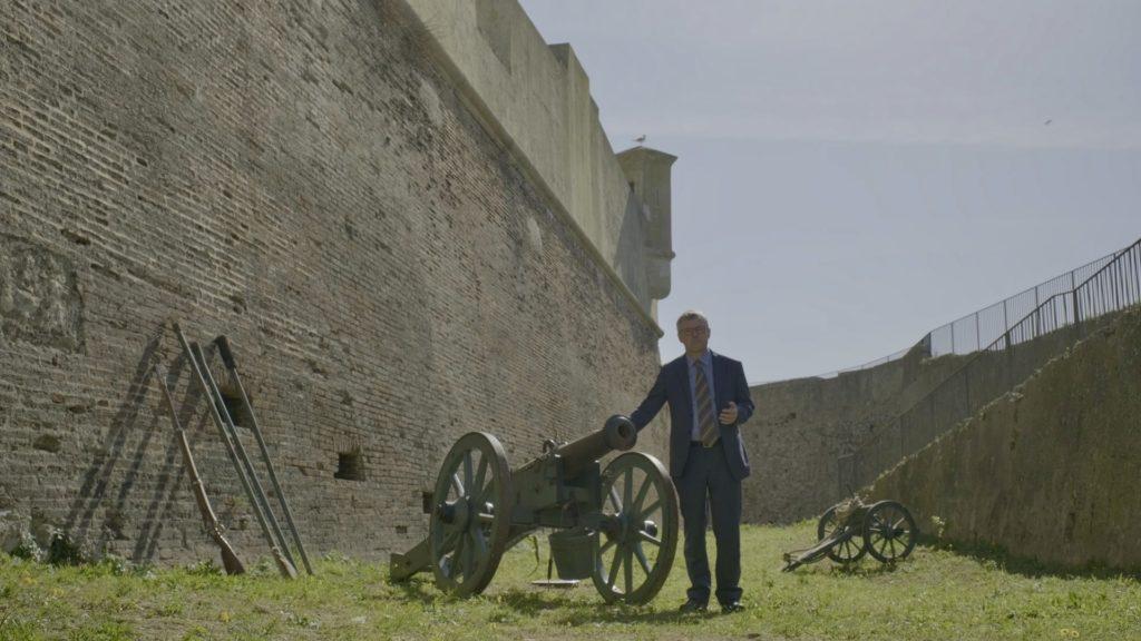 Napoleone e l'Elba, le celebrazioni del Bicentenario. Alessandro Barbero vision ai cannoni dell Elba