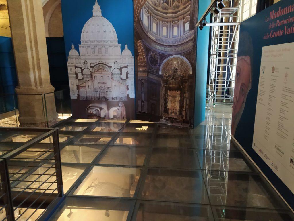 Palazzo Madama Torinoallestimento Madonna delle partorienti