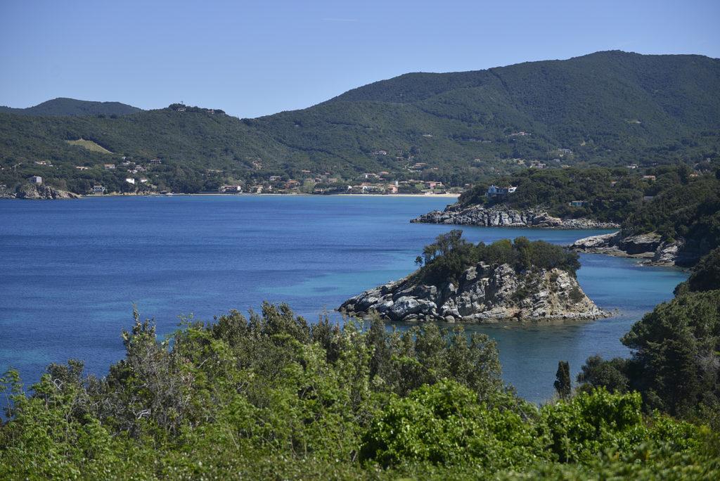 Lo scoglio della Paolina all isola d Elba