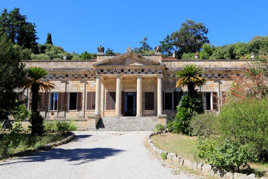 Napoleone e l'Elba, le celebrazioni del Bicentenario. Ingresso di villa San Martino all'isola d'Elba