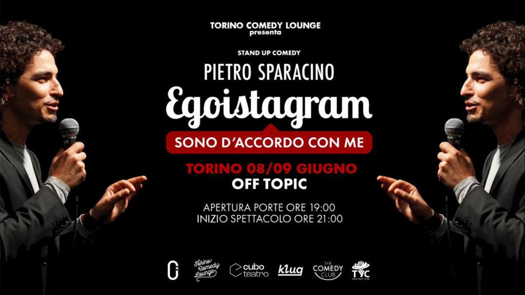 Pietro Sparacino - la locandina dello spettacolo